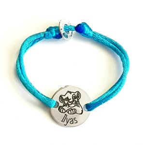 Bracelet enfant lion Simba 15 mm