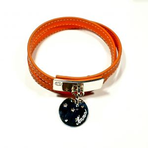 Bracelet cuir constellation