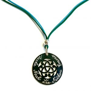 collier arabesque ronde